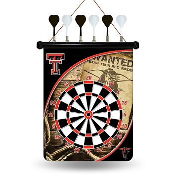Texas Tech Red Raiders Magnetic Dart Board