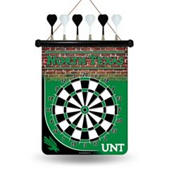 North Texas Mean Green Magnetic Dart Board