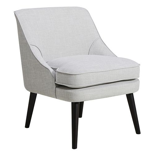 Pulaski Upholstered Swoop Arm Accent Chair