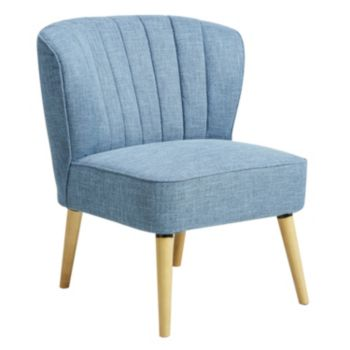 Pulaski Blue Channel Stitch Accent Chair