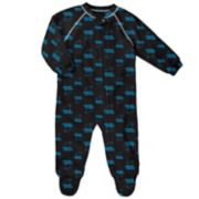 Baby Carolina Panthers Fleece Footed Pajamas