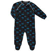 Baby Carolina Panthers Fleece Footed Pajamas