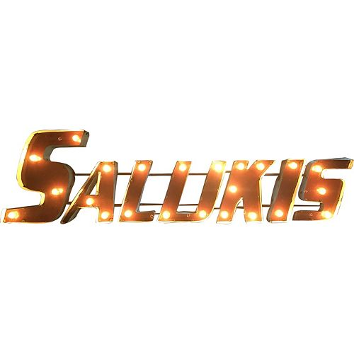 Southern Illinois Salukis Light-Up Wall Décor
