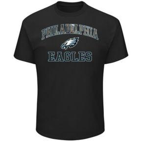 Men's Majestic Philadelphia Eagles Heritage Camo Tee