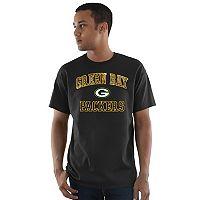 Men's Majestic Green Bay Packers Heritage Camo Tee
