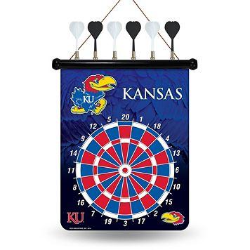 Kansas Jayhawks Magnetic Dart Board