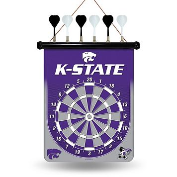 Kansas State Wildcats Magnetic Dart Board