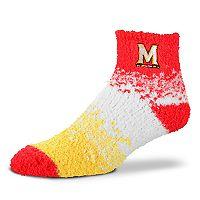 Women's For Bare Feet Maryland Terrapins Marquee Sleep Socks