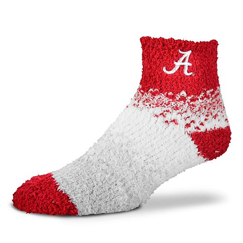 Women's For Bare Feet Alabama Crimson Tide Marquee Sleep Socks