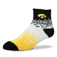 Women's For Bare Feet Iowa Hawkeyes Marquee Sleep Socks