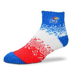 Women's For Bare Feet Kansas Jayhawks Marquee Sleep Socks