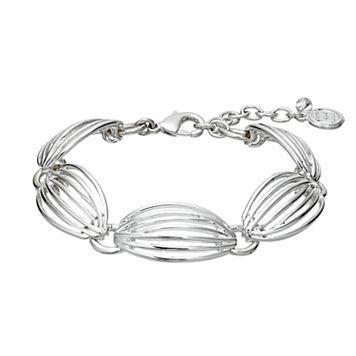 Dana Buchman Openwork Link Bracelet