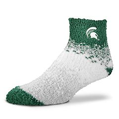 Women's For Bare Feet Michigan State Spartans Marquee Sleep Socks