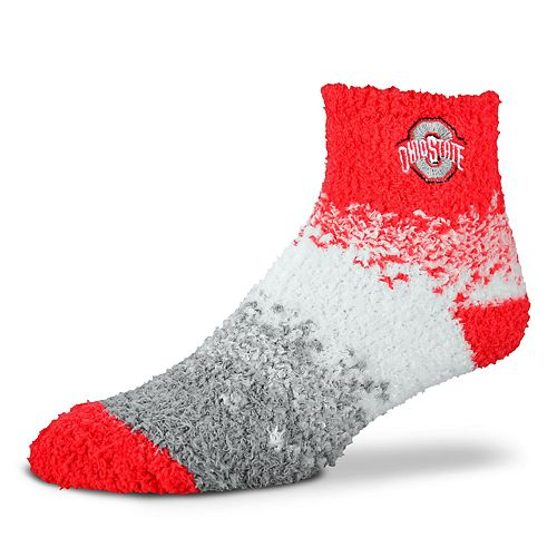 Women's For Bare Feet Ohio State Buckeyes Marquee Sleep Socks