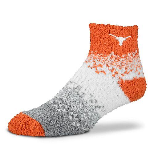 Women's For Bare Feet Texas Longhorns Marquee Sleep Socks