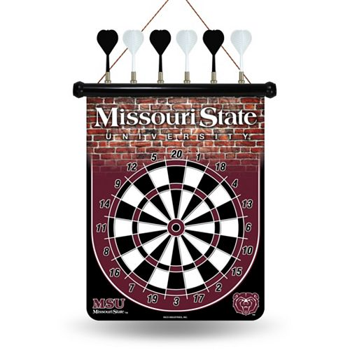 Missouri State Bears Magnetic Dart Board