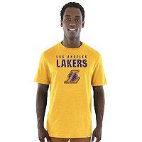 Men's Majestic Los Angeles Lakers Hot Picks Tee