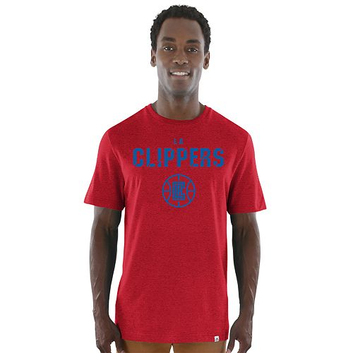 Men's Majestic Los Angeles Clippers Hot Picks Tee