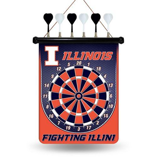 Illinois Fighting Illini Magnetic Dart Board