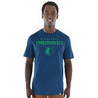 Men's Majestic Minnesota Timberwolves Hot Picks Tee