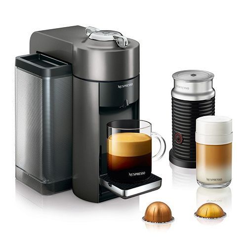 Nespresso Vertuo Coffee Amp Espresso Machine With Aeroccino