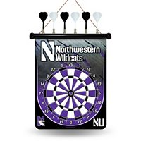 Northwestern Wildcats Magnetic Dart Board