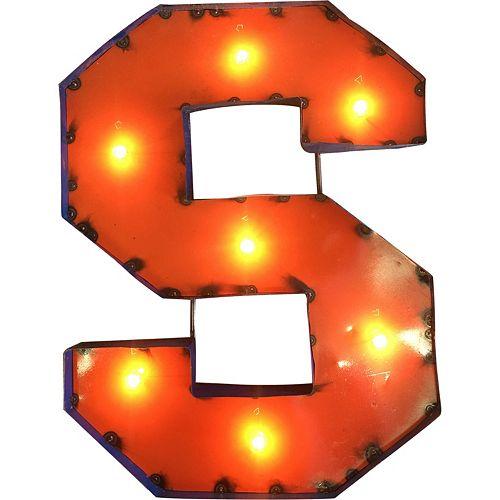 Syracuse Orange Light-Up Wall Décor