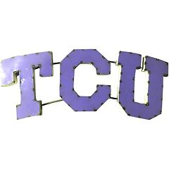 TCU Horned Frogs Metal Wall Décor