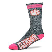 Adult For Bare Feet Clemson Tigers Crew Socks