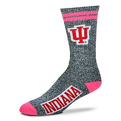 Adult For Bare Feet Indiana Hoosiers Crew Socks