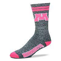 Adult For Bare Feet Minnesota Golden Gophers Crew Socks