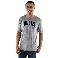 Men's Majestic Chicago Bulls Fight 'til the End Tee