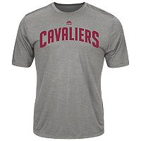 Men's Majestic Cleveland Cavaliers Fight 'til the End Tee