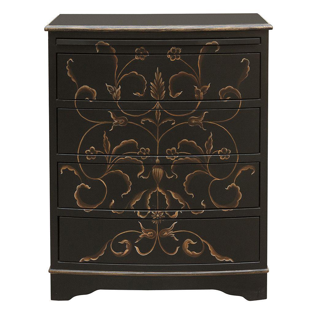Pulaski Floral 4-Drawer Dresser