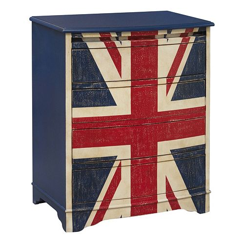 Pulaski Union Jack 4-Drawer Dresser