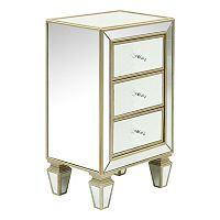 Pulaski Mirrored 3-Drawer Dresser
