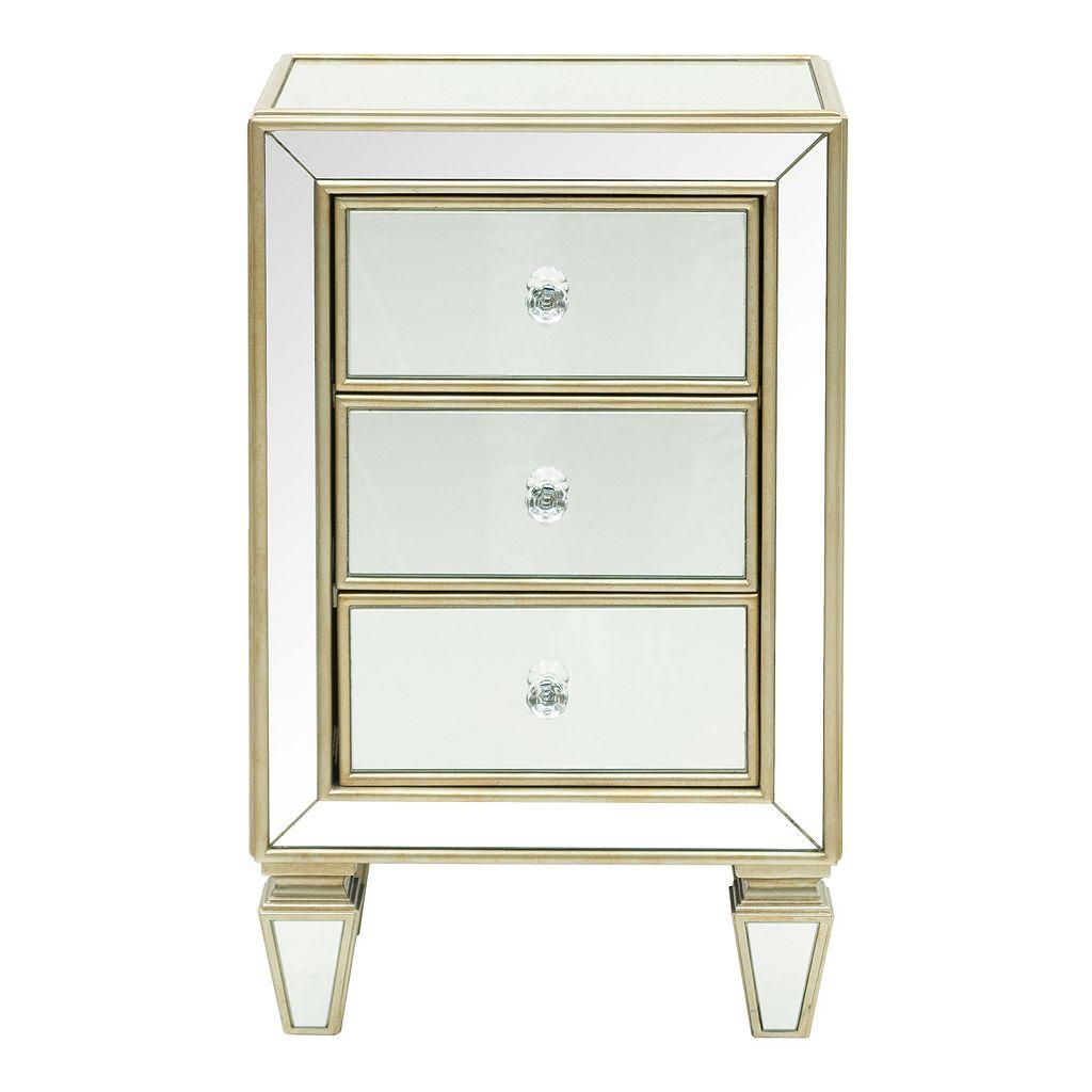 Pulaski Mirrored 3-Drawer Dresser