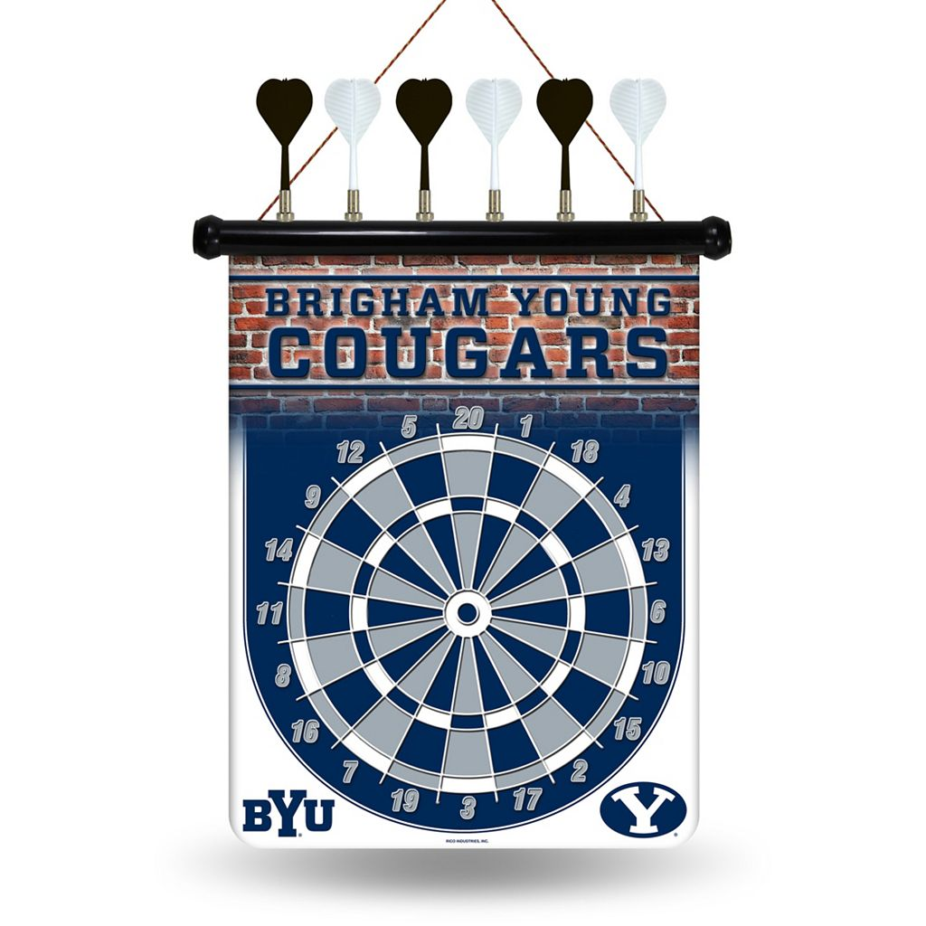 BYU Cougars Magnetic Dart Board