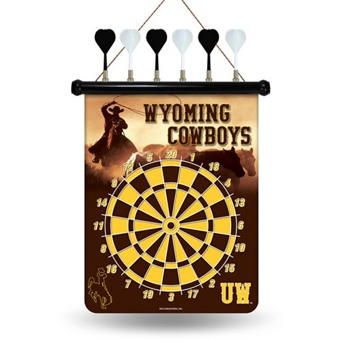 Wyoming Cowboys Magnetic Dart Board