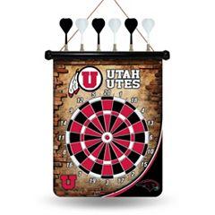 Utah Utes Magnetic Dart Board