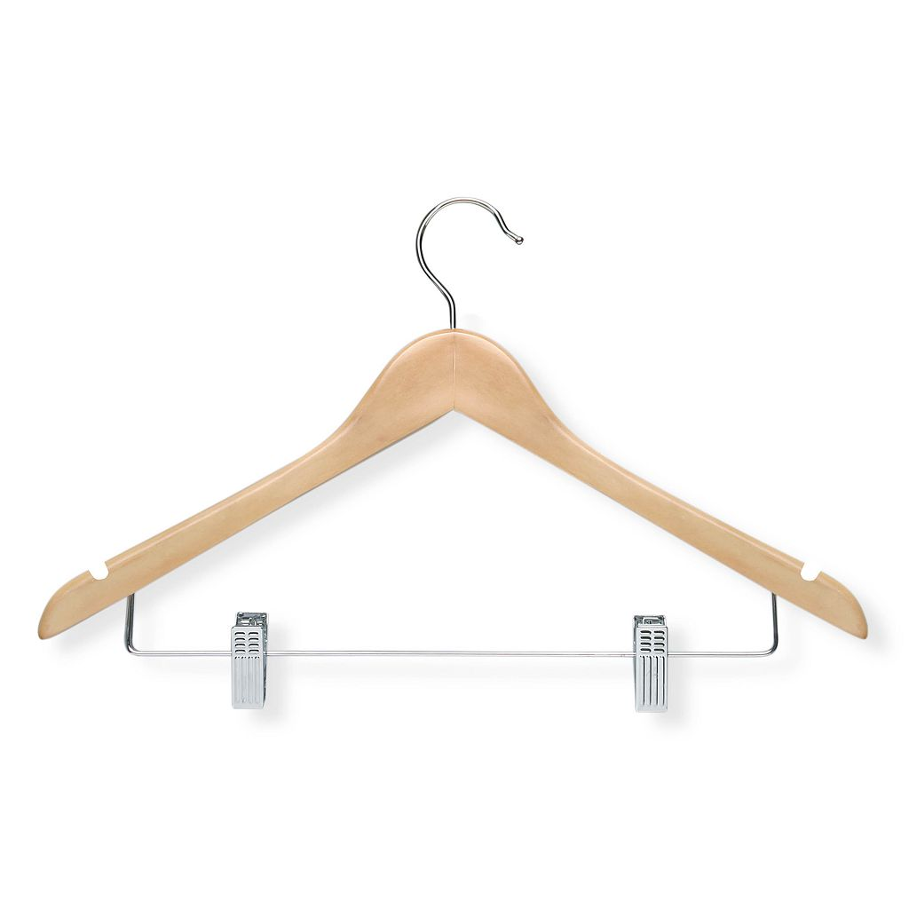 Honey-Can-Do 12-pack Basic Suit Hangers & Clips