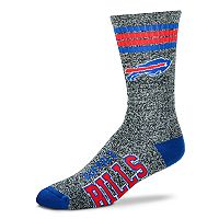 Adult For Bare Feet Buffalo Bills Got Marbled Crew Socks