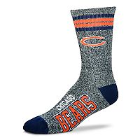 Adult For Bare Feet Chicago Bears Got Marbled Crew Socks