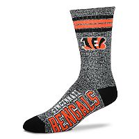 Adult For Bare Feet Cincinnati Bengals Got Marbled Crew Socks
