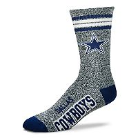 Adult For Bare Feet Dallas Cowboys Got Marbled Crew Socks