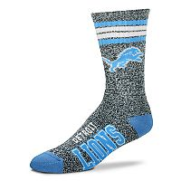 Adult For Bare Feet Detroit Lions Got Marbled Crew Socks