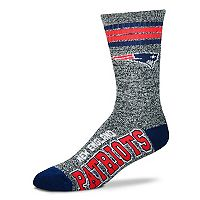 Adult For Bare Feet New England Patriots Got Marbled Crew Socks