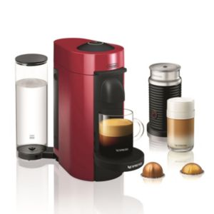 Nespresso Vertuo Plus Coffee & Espresso Machine with Aeroccino Milk Frother