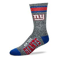 Adult For Bare Feet New York Giants Got Marbled Crew Socks