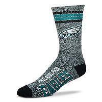 Adult For Bare Feet Philadelphia Eagles Got Marbled Crew Socks